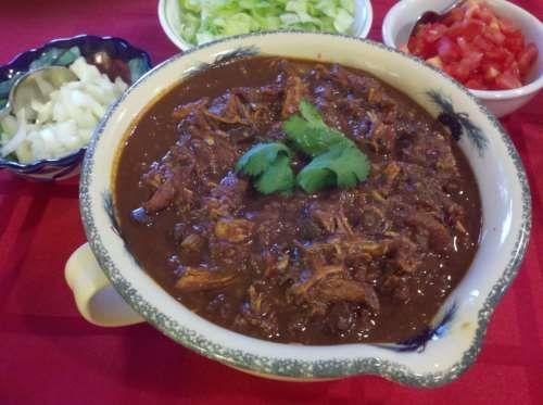 Mexicaanse kip mole uit de slowcooker