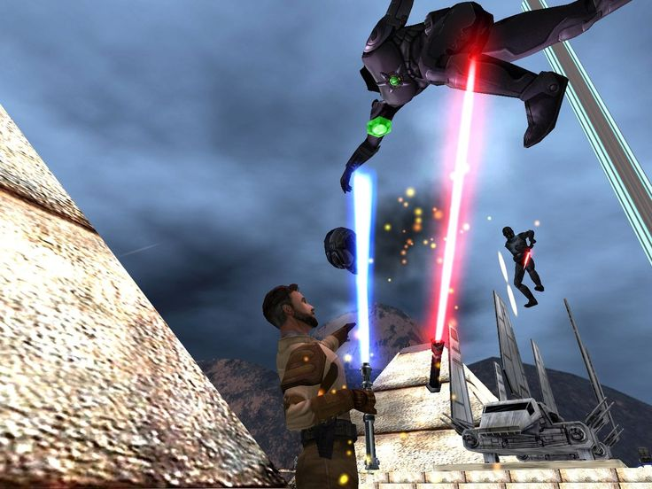 Jedi Outcast is simply one of the easiest games to recommend this year.