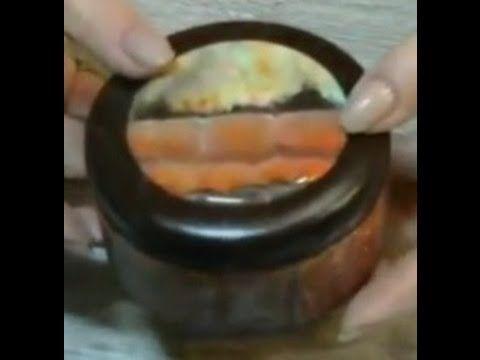 Фирдаус Батдалова Имитация крапчатого камня - YouTube