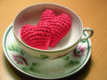 san valentino cuore uncinetto