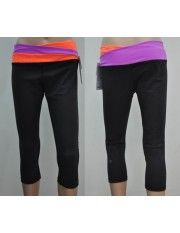 Lululemon Yoga Astro Crops Orange Purple $51.99 http://www.sportcomeon.com/