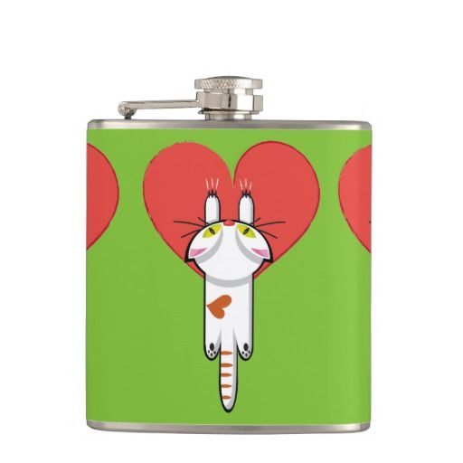 Lindo Gatito aferrado al amor. Gato, cat, kitten. Producto disponible en tienda Zazzle. Product available in Zazzle store. Regalos, Gifts. Link to product: http://www.zazzle.com/lindo_gatito_aferrado_al_amor_gato_cat_kitten_hip_flask-256785198439815811?CMPN=shareicon&lang=en&social=true&rf=238167879144476949 #bottle #botella #petaca #cat #gato #kitten
