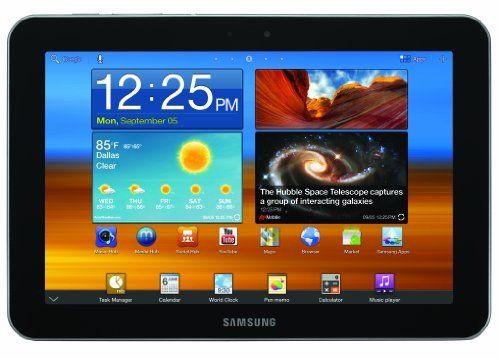 Samsung Galaxy GT-P7310MVGR (8.9-Inch Screen) 32GB Tablet - Metallic Gray 32GB Internal Memory (Solid State Drive). Android Honeycomb 3.1. WiFi 802.11 a/b/g/n, 1 GB RAM. 8.9 WXGA TFT display, 1280 x 800 resolution. Bluetooth v3.0, USB 2.0 port.  #Samsung #PersonalComputer