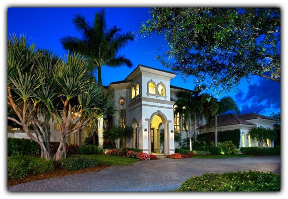Custom Home for sale at Quail West in Naples, Florida.