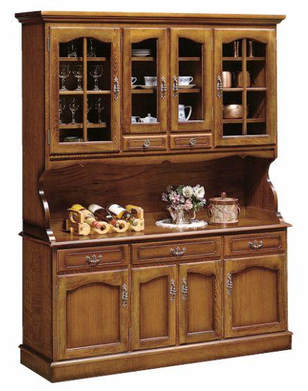 カリモク/EC5500NK/カントリー/ウォールナット/コロニアル/食器棚/木製ダイニングボード・キッチンボード