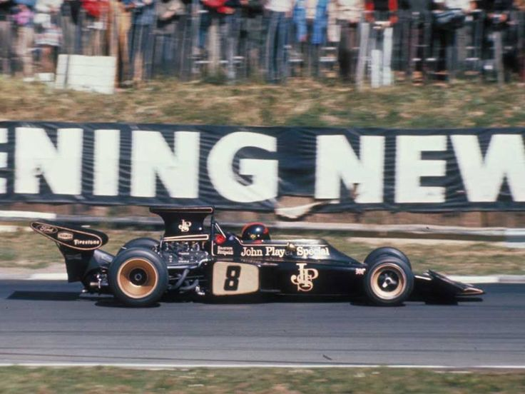 #8 Emerson Fittipaldi (Bra) - JPS Lotus72D (Ford Cosworth V8) 1 (2) John Player Team Lotus