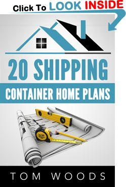 Shipping container home plans package