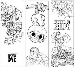 Wonderland Crafts: Disney Bookmarks
