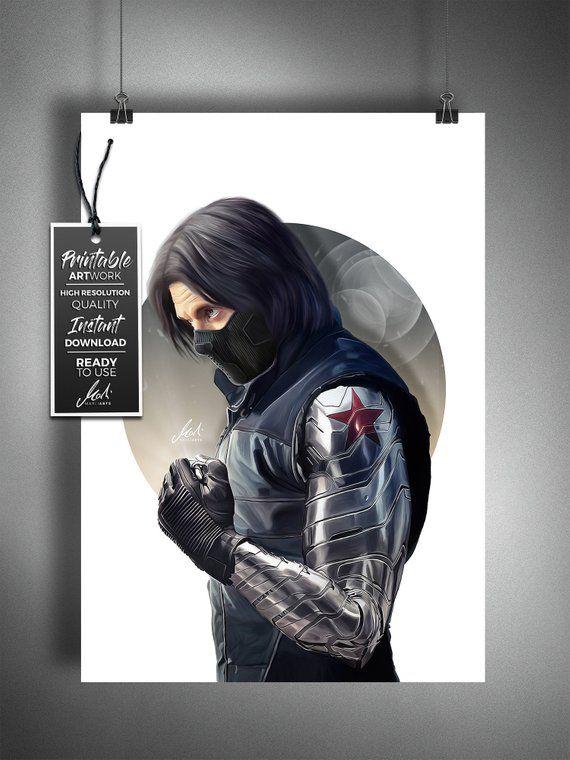 Winter Soldier, Bucky Barnes, Avengers, Captain America, Superhero
