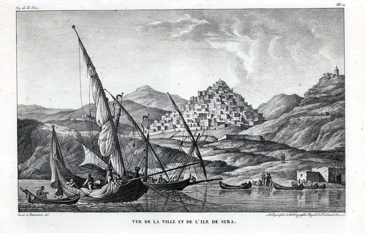Σύρα, CHOISEUL-GOUFFIER, Marie Gabriel π. 1840