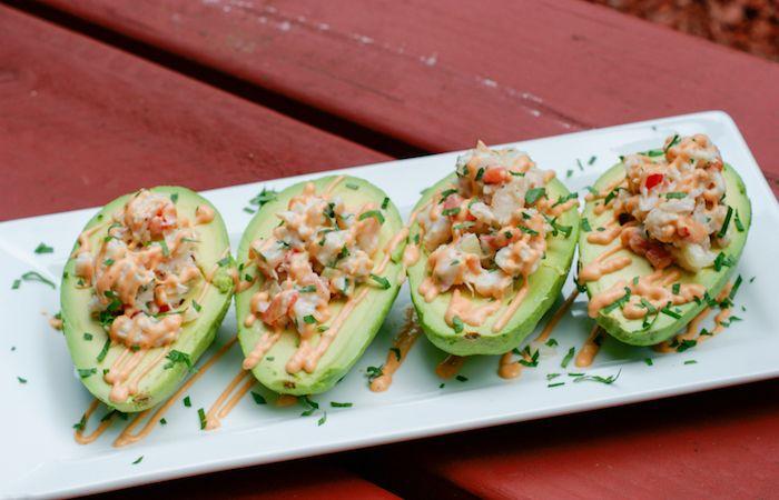 Polpa di granchio con avocado e gamberi - La ricetta di Buonissimo