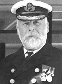 Captain Edward John Smith, RD, RNR (27 January 1850 – 15 April 1912) was an English naval reserve officer who served as commanding officer of numerous White Star Line vessels.He is best known as the captain of the maiden voyage of the RMS Titanic, which struck an iceberg and sank on 15 April 1912; Smith and over 1,500 others perished in the sinking.