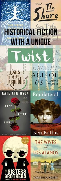 Not Your Average Historical Fiction Book List