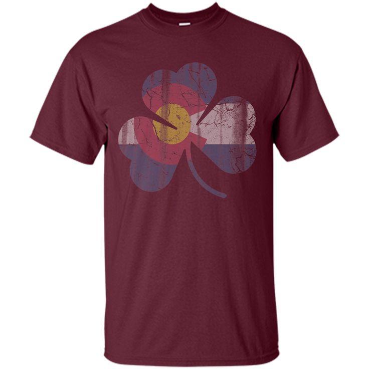 State Flag of Colorado Shamrock T-Shirt