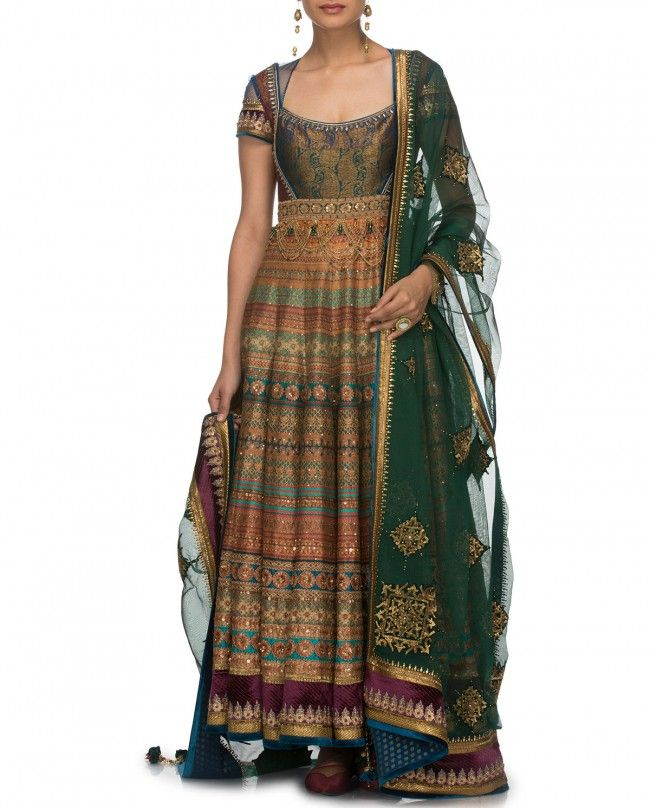 Multicolored Salwar Suit