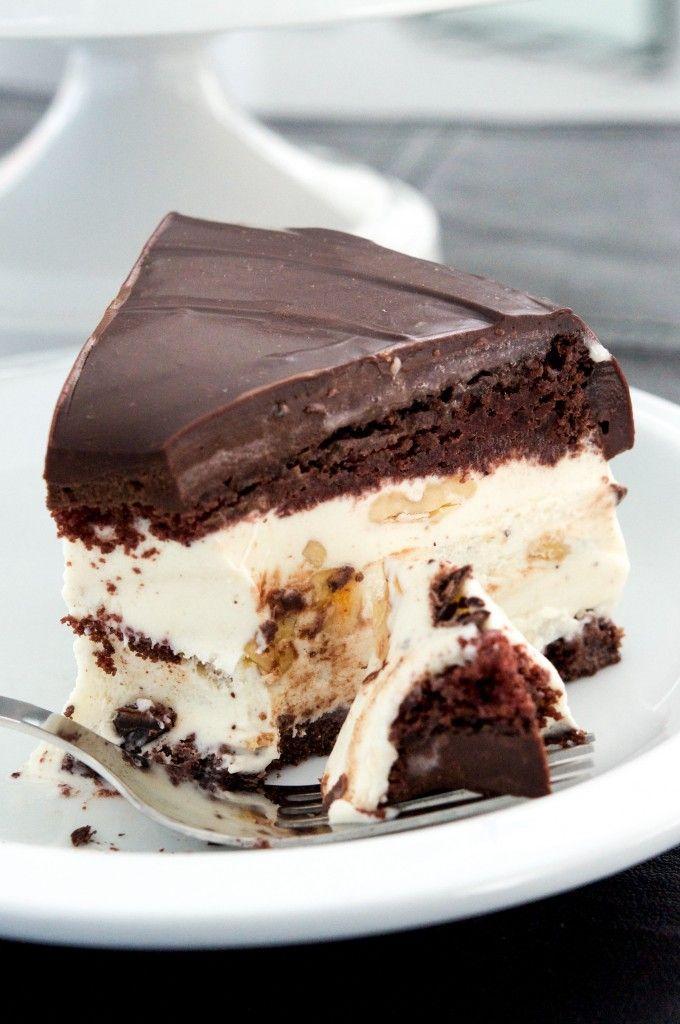 ... | Chocolate banana ice cream, Caramel ice cream and Sandwich cake