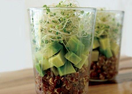 Quinoa-Avocado Verrines