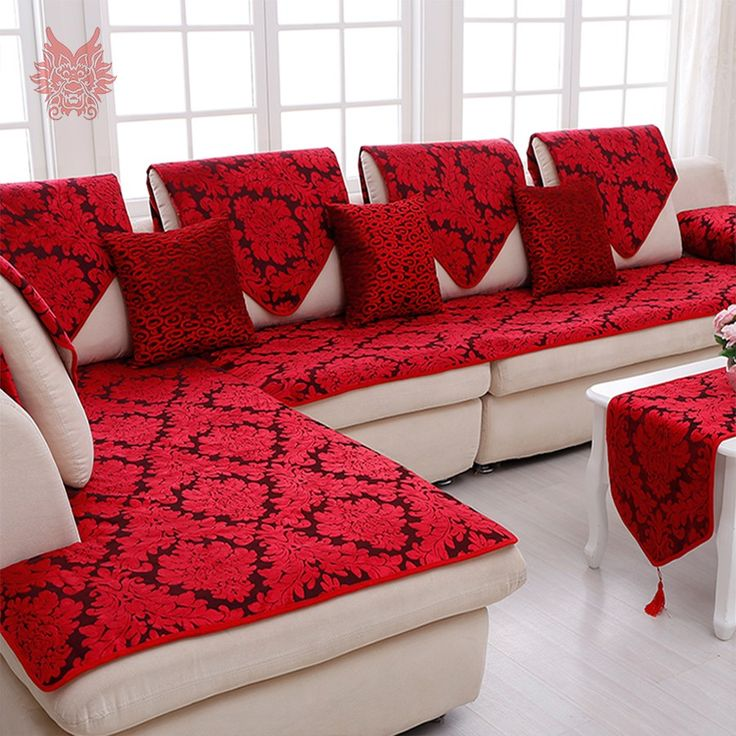 Popular Red Floral Sofa Buy Cheap Red Floral Sofa Lots From China Within  Floral Sofas In