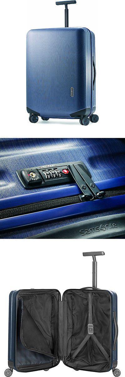 Luggage 16080: Samsonite Inova 20 Hardside Spinner Carry On Luggage Indigo Blue Tsa Lock -> BUY IT NOW ONLY: $229.99 on eBay!