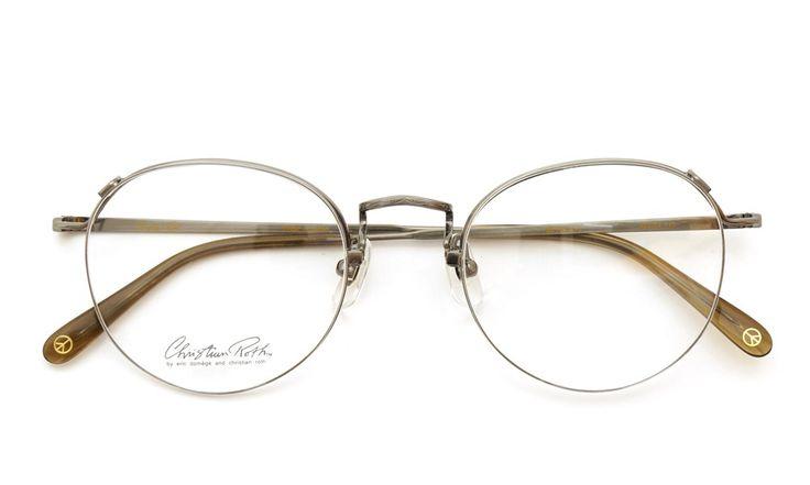 Christian Roth [CR F-04 M-3 ブロンズ 48size] | optician | ponmegane