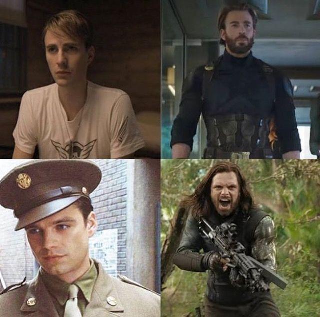 Captain America, Bucky Barnes: The First Avenger, Infinity War