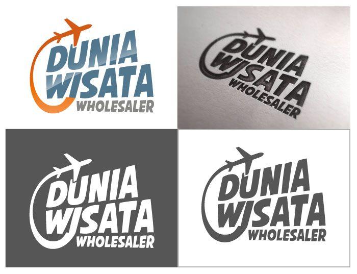 Participating logo contest on www.sribu.com - Dunia Wisata Travel Agency