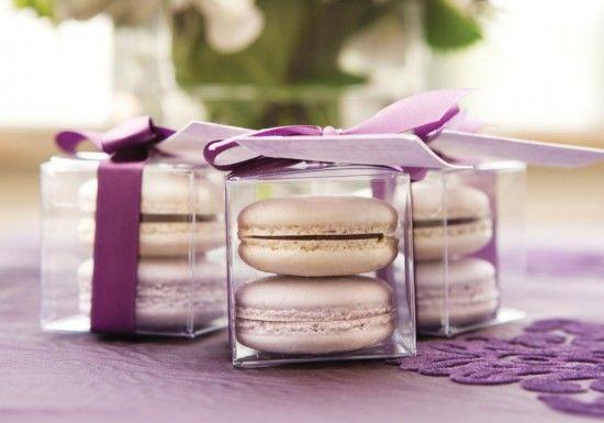 Resultado de imagen para purple wedding favors