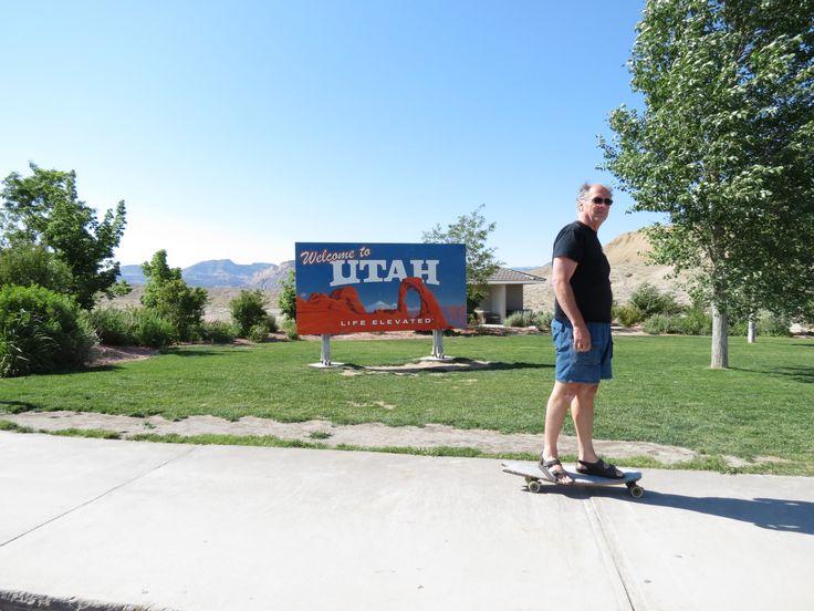 Skating Utah