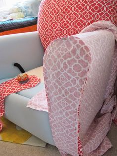 BonnieProjects: Tips & Tricks for Slipcovering a Recliner