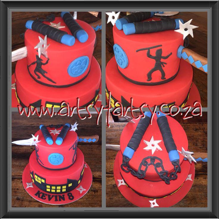 Ninja Cake #ninjacake