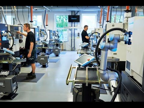 From 0 to 42 robots in two years at Trelleborg Sealing Solutions - Creating more new jobs.Universal Robots - May 15, 2017