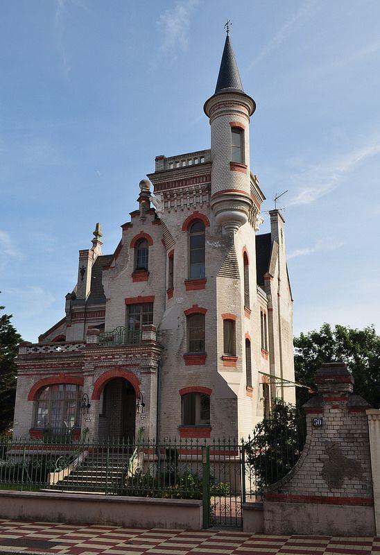 villa le Castel au Touquet 1904 Touquet paris plage