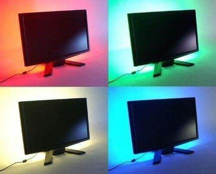 TV led strip set 40-50 inch met 3 strips en afstandsbediening ...