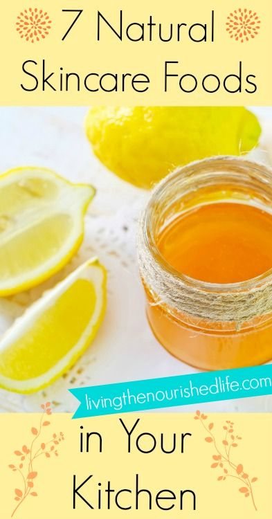 7 Natural Skincare Foods in Your Kitchen - Simply Happy Healthy