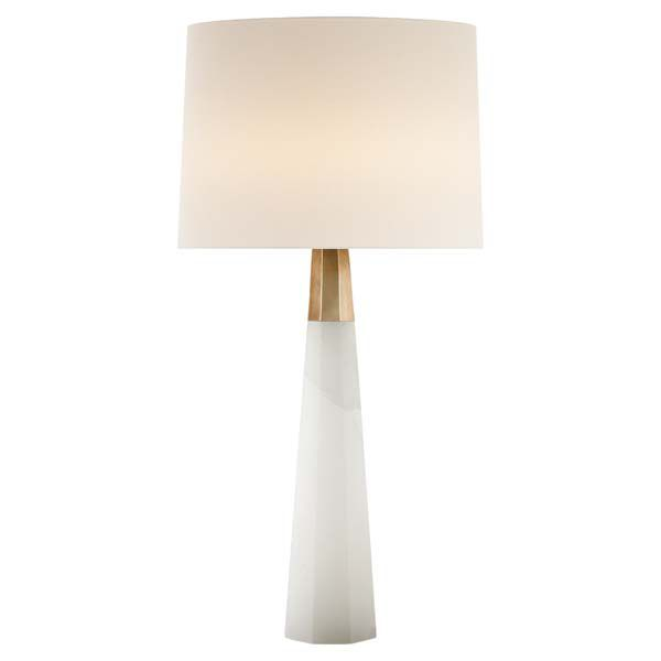 Nice Incredible.. Alabaster And Brass.. Sorry Expensive.. $1000 OLSEN TABLE LAMP