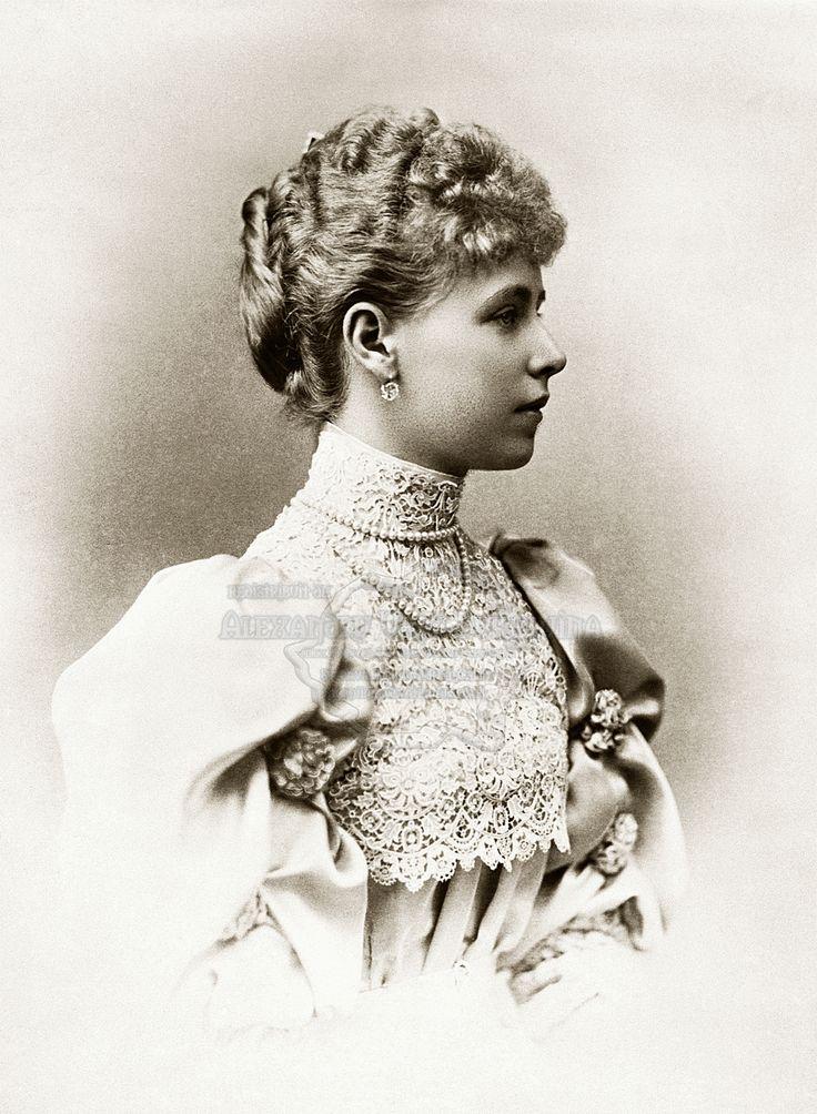 Principesa Maria of Romania, în anul căsătoriei, 1893.