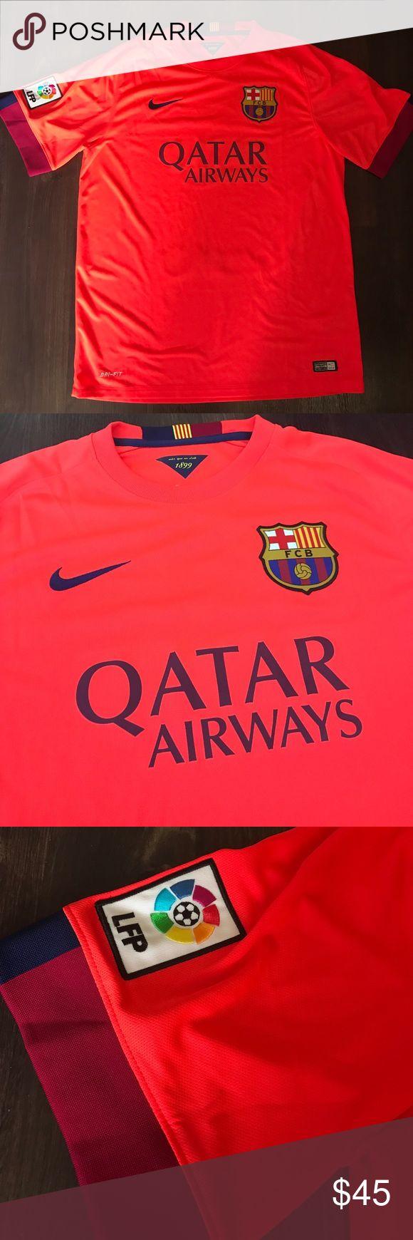Nike DRI-FIT Barcelona Jersey Orange Nike DRI-FIT Barcelona Jersey Nike Other
