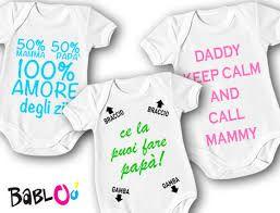 Risultati immagini per body neonato personalizzati