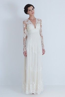2012 Lace Covered Long S...