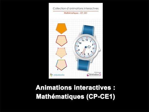 Maths - des animations interactives - Le petit cartable de Sanleane