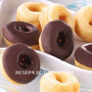 resep donat kentang potato donuts