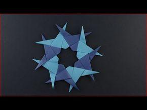 Origami - Code di rondine - Paolo Bascetta - YouTube