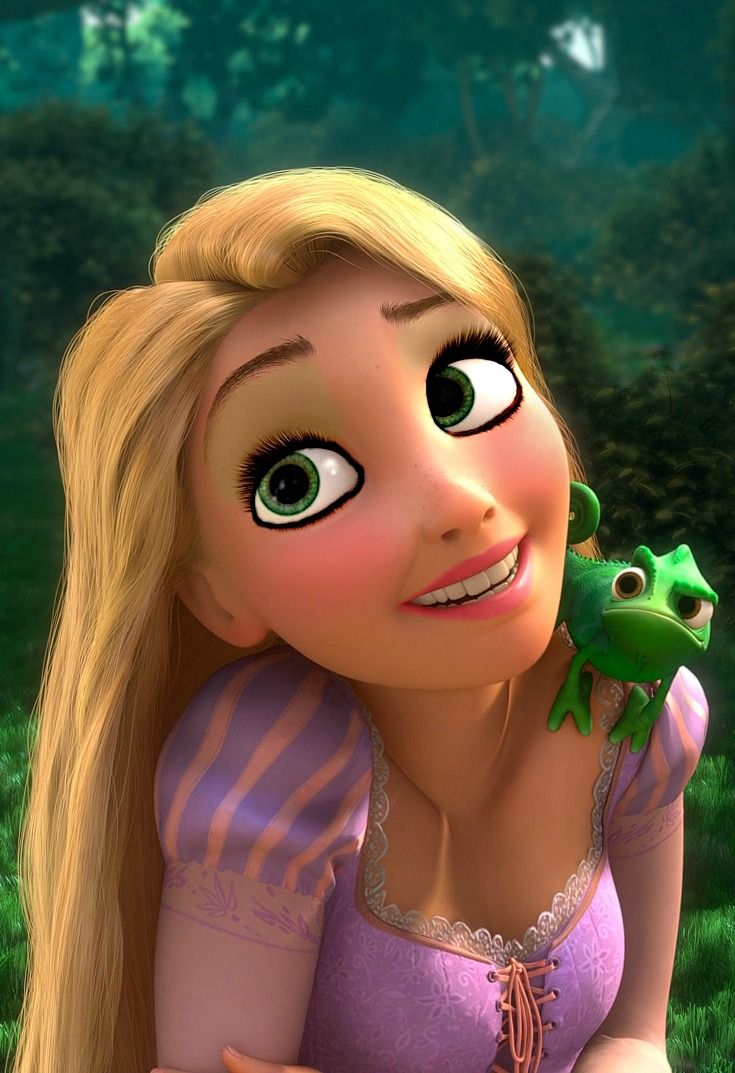 disney princesses nude Rapunzel & Pascal. Disney princess ...