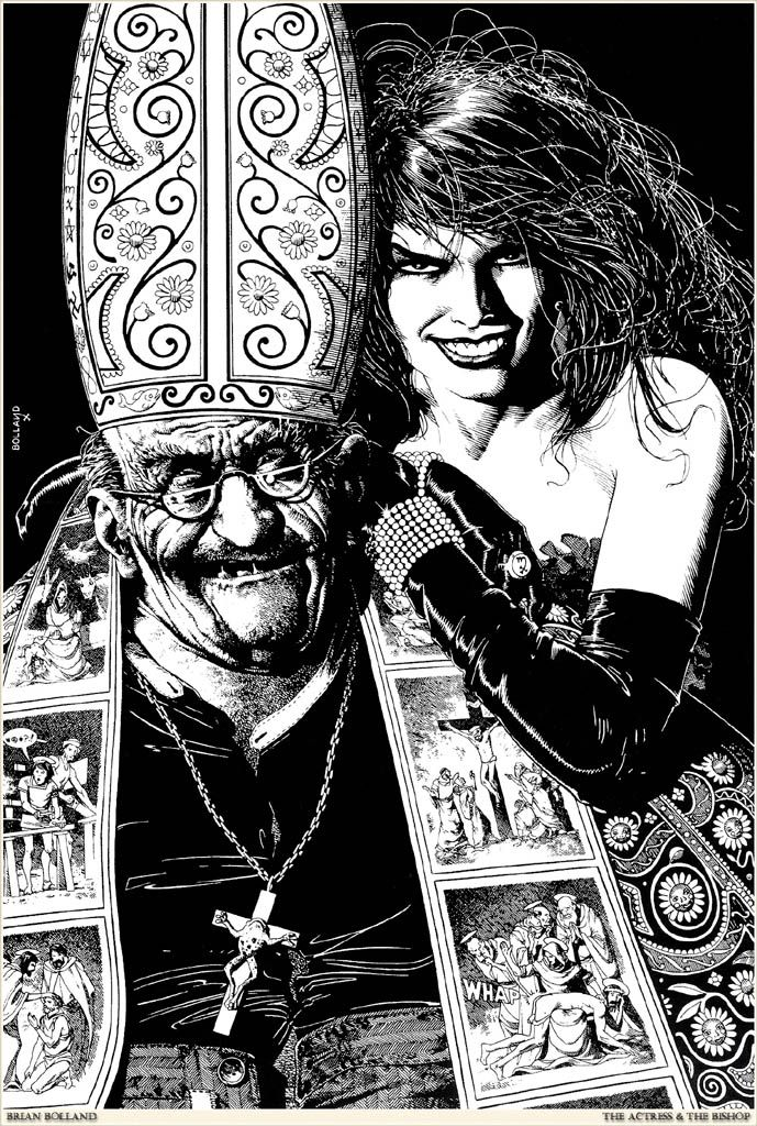 Brian_Bolland-Actress_and_the_Bishop | Illustration ...