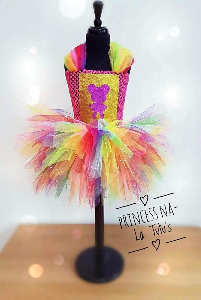 L.O.L Surprise Doll - L.O.L.  Dress - Girl Tutu Dress - Chistmas Outfit - Rainbow Dress - Princess Dress - L.O.L.  Big Sister - Party Dress by PrincessNaLatutus on Etsy