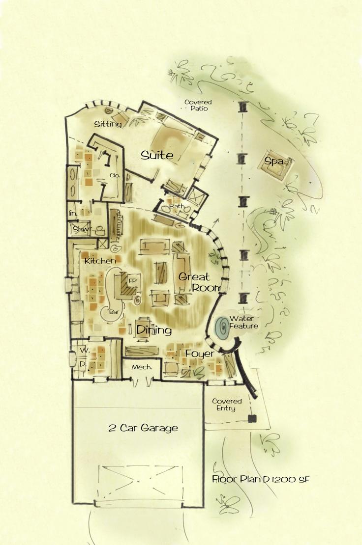 133 best house plans images on pinterest architecture apartment