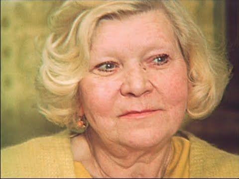 """Клавдия Шульженко (док. фильм """"Я возвращаю Ваш портрет"""", 1983 г.) - YouTube"""