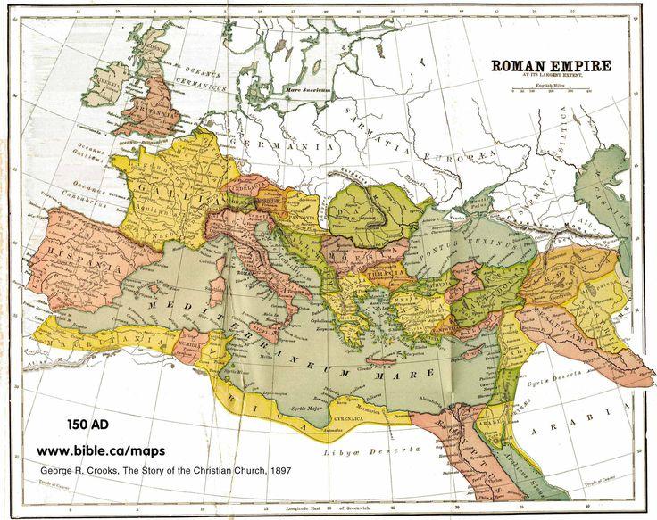 Roman Empire 150 AD