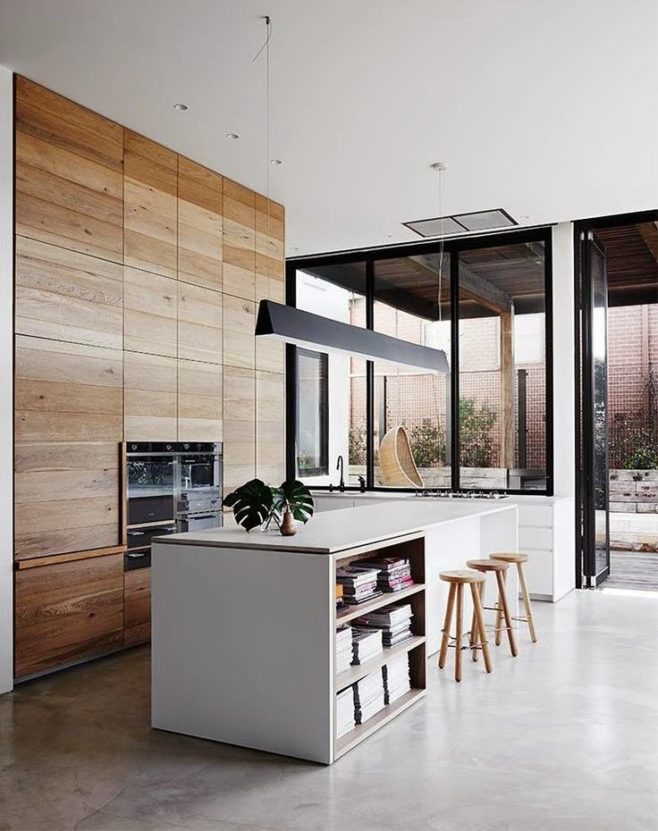 COCOCOZY: MODERN OPEN FLOOR PLAN MIXING SURFACES