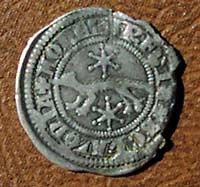Esta moneda se uso alrededor del 1250dC, en Croacia.